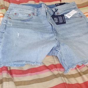 Gap Denim High rise shorts